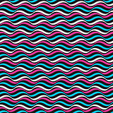 Wavy color pattern - vector repeatable background