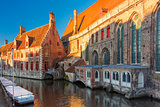 Hospital of Saint John in the morning, Bruges