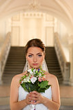 Beautiful Bride.Bride's portrait.