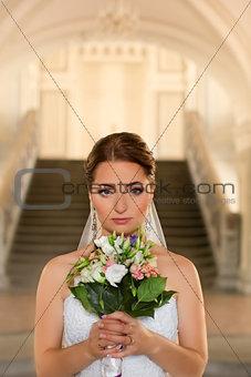 Beautiful Bride.Bride's portrait.
