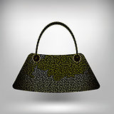 Modern Handbag Isolated