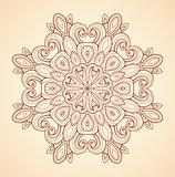 Mandala in Indian style