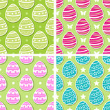Set of Easter patterns