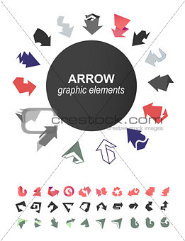 Arrows icons collection