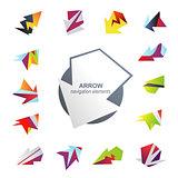 Abstract arrow elements