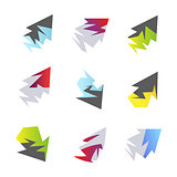 Abstract arrow elements