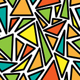 The pattern of geometric shapes