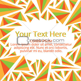 Frame for your text