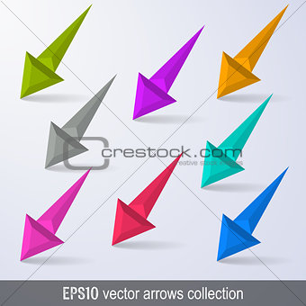 Arrows design elements collection