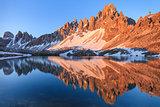 Lago dei Piani. Tre Cime, Italian Dolomites