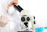 Medical Research in Laboratory