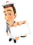 3d seaman holding company card