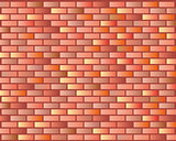 Seamless Grunge Brick Wall Texture. Vector Illustration.