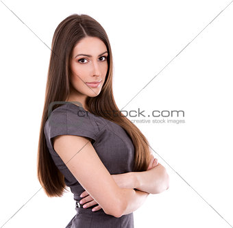 business young woman