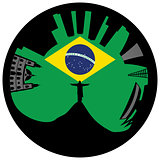 Rio de Janeiro looks like ring