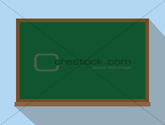 green board chalkboard isolated reuse and reusable concept
