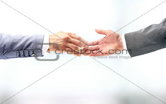 Business handshake