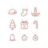 Christmas Icon Line