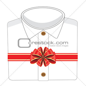 Blanching shirt in gift
