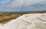 Beautiful landscape in Pamukkale