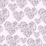 Hand Drawn Simple Seamless Pattern