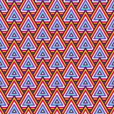 Abstract Geometric Dark Seamless Pattern