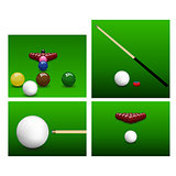 Snooker set