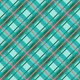 Seamless diagonal pattern in violet, turquoise and red