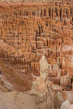 Close up of the amphitheater in Bryce Canyon