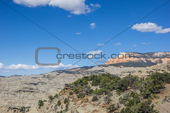 Powell Point Overlook along highway 12 in Utah
