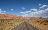 Highway 12 south of Torrey and Capitol Reef in Utah