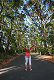 Standing among the tall gum trees on a remote country road