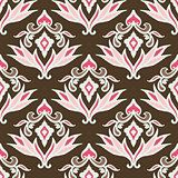 Abstract seamless vintage  pattern for fabric
