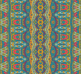 Abstract geometric colorful seamless pattern