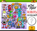 how many robots