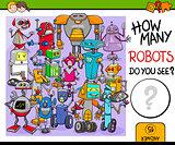 how many robots