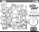 counting game coloring book