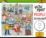 counting people preschool game