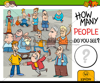 counting people preschool game