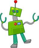 fantasy robot cartoon character