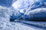 Amazing glacial cave