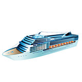 Cruise Liner Illustration