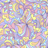 colorful  abstract seamless pattern