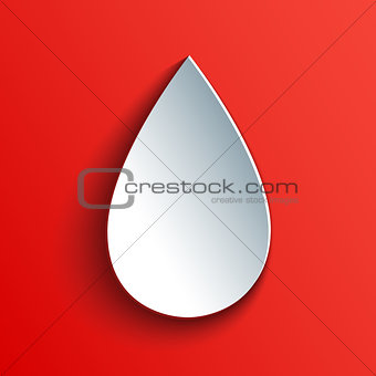 Blood drop icon.