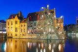 Medieval town and tower Belfort, Bruges, Belgium