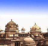 Palace in Orcha, Madhya Pradesh state, India