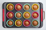 Baked in the oven muffins
