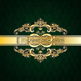 Green Invitation Card Design