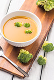 Vegetable cream soup