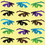 Eyes background